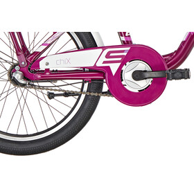 s'cool chiX 20 3-S Børnecykel alloy pink